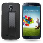 Protective Flexible TPU Stand Phone Cover Case for Samsung Galaxy S4