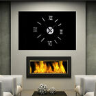 DIY 3D Wall Clock Decal Stickers Large Acrylic Mirror Modern Home Bedroom Decor
