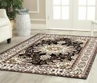Charlton Home Staveley Oriental Hand-Tufted Brown/White Area Rug