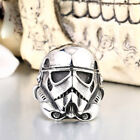 New Style Mens Star Wars Stormtrooper 316L stainless steel Ring Sz 7-13 $7.76 CAD on eBay