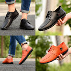 Men's Casual Leather Peas Shoes Moccasins Driving Slip on Loafers Fashion Flats