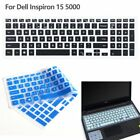 Silicone Keyboard Cover Skin Protector For Dell Inspiron 15 5000 Series Laptop