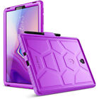 Galaxy Tab S4 10.5 2018 Poetic TurtleSkin Grip Protective Silicone Case 4 Colors