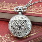 Steampunk Retro CLassic Bronze Design Pocket Watch Quartz Pendant Necklace Gift image