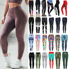 Sport Womens Compression Fitness Leggings Running Yoga Gym P