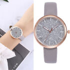 New Fashion Casual Watches Women's Leather Band Alloy Quartz Analog Wrist Watch image