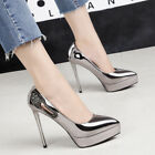 Used, Womens High Heels Stilettos Pointed Toe Slip On Platform Sexy Style Shoes C98 for sale  Shipping to Nigeria