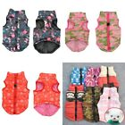 Pets Dog Winter Padded Warm Coat Vest Puppy Outdoor Anti Wind Outwear Jacket USA