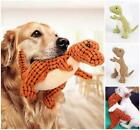 Pet Dog Toy Funny Dinosaur Shape Chew Squeaker Squeaky Toy Pet Training Toy USA
