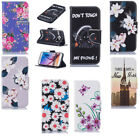 For Samsung S6 S7 iPhone 7 8 Magnetic Wallet Case Flip Leather Phone Cover Case