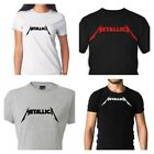 METALLICA Printed Logo T-Shirt  Rock Metal Tee S-XL 100% Cotton MEN & WOMEN image