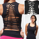 Women Sports Vest Fitness Exercise Gym Yoga Tank Top Singlet