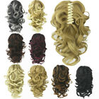 24'' Synthetic Claw Hair Pony Hair Extensions Hair Clip Ponytail Accessories New