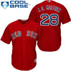 J.D Martinez #28 red cool base Red Sox Jersey on Ebay