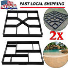 Path Walk Maker Walkmaker Mold Driveway Stepping Stone Paving Pavement Mold SK image