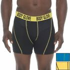 BODY GLOVE MEN'S UNDERWEAR - PACK 3 BOXER BRIEF PERFORMANCE BLACK YELLOW NEW
