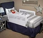 """Double-Sided Bed Rail With Anchoring Strap 43"""" Long And 18"""" Tall Twin/Queen Size"""