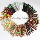 15/25 cm *1 yard doll wig hair material high-temperature 17 color supply re root