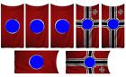 1:35 German flags on cotton canvas / cotton peel model/diorama military set 9