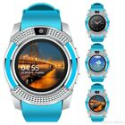 Bluetooth Smart Watch w Camera Texting & Calls For Android IOS Samsung iPhone LG