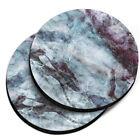 2PCS Round Galaxy Design Neoprene Cup Holder Car Coasters 2.87 inches