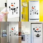 Snowman Fridge Sticker Decal Decoration Christmas Novelty Xmas Wall Decals Great