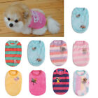 Cute Pet Dog Puppy Clothing Shirt Tops Small Puppy Soft Pet Coats For Teacup dog