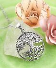 Lush Tree of Life with Celtic Knot Roots Necklace in Sterling Silver wh111