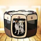 Dog Pet Tent Portable Cage Folding Kennel Puppy Playpen House Bed Fence Tent Bag