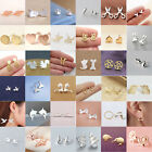 New Fashion Women's Girl 925 Silver Sterling Earrings Cute Ear Stud Jewelry Gift