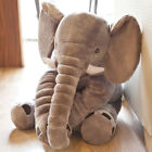 Baby Child Soft Elephant Cushion Plush Toys Stuff Lumbar Pillow Long Nose Doll