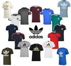 Adidas Originals Men California Retro Essentials Trefoil Logo Crew Neck T-Shirt