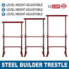 4/5/6 Level Height Adjustable Steel Builder Trestle Home Scaffold Portable