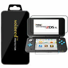 1-5 Pack SOINEED® Nintendo 2DS XL Up+Down Clear Tempered Glass Screen Protector