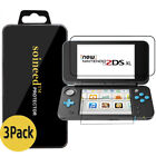 {1-5Pack} SOINEED® Nintendo 2DS XL Up+Down Clear Tempered Glass Screen Protector