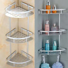 2 3 Layer Bathroom Triangular Shower Caddy Shelf Corner Bath Storage Holder Rack