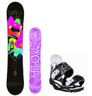 2019 FLOW Pixi 147cm Women's Snowboard+Head Women's Bindings NEW 4 YR WARRANTY