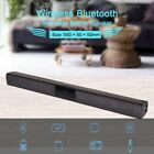 TV Home Theater Soundbar Bluetooth Sound Bar Speaker System w/Built-in Subwoofer