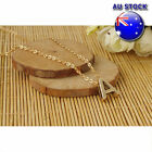 18k Gold Plated Letter A-z Personalised Pendant Chain Necklace