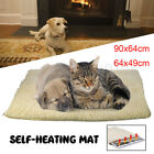 Pet Self Heating Thermal Blanket Bed Dog Cat Mat Bunny Heated Warmer  new