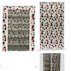 5 Tier Canvas Shoe Rack Storage Rack Hold upto 15 Pairs White Black Red Polka
