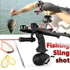 Pro Fishing Hunting Slingshot Catapult Arrows Velocity Archery Bow Gift Tool