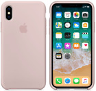 Apple Silicone Case (for iPhone X) - Pink Sand