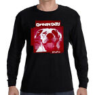 Green Day Band Slappy Album Men's Logo Long Sleeve Black T-Shirt Size S to 3XL