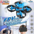 Shark Hunting 5.8G 40CH Mini FPV Racing Drone w/ VR Goggles RTF RC Quadcopter ED