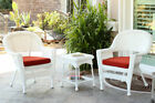August Grove Byxbee 3 Piece Conversation Set with Cushions