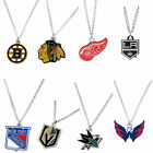 NHL logo necklace charm and chain pendant PICK A TEAM $7.99 USD on eBay