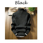 US Winter Men Knitted Roll Turtle Neck Pullover Jumper Knitwear Woolen Sweater <br/> ❤US STOCK❤HIGH QUALITY❤FAST SHIPPING❤EASY RETURN❤