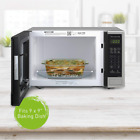 Panasonic Microwave Oven NN-SU696S Stainless Steel Countertop/Built-In 1100W