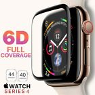 6D For Apple Watch Series 4/3/2/1 Full Screen Protector Tempered Glass 38To 44MM